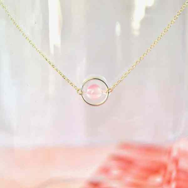 bijoux-pierre-argent-vrai-collier-funambule-lithotérapie-Calcédoine-1