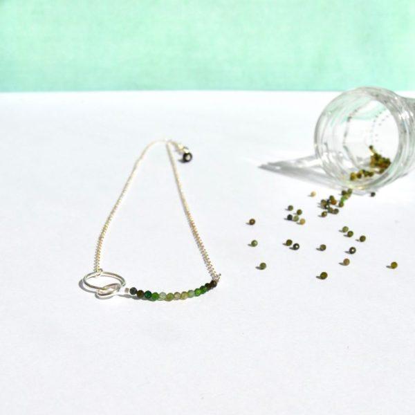 bijoux-pierre-argent-vrai-collier-funambule-lithotérapie-tourmaline-verte-2