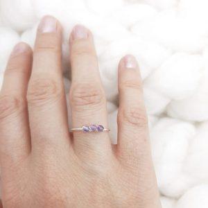 Atelier-tourmaline-bagues-pierres-argent-lithosophie-lithoterapie-soin-des-pierres-Améthyste-violet-1