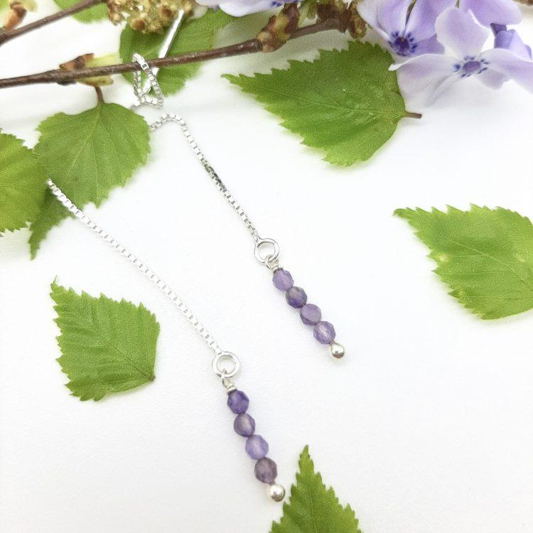bloucle-orielle-pierres-bijoux-argent-cadeau-fete-mere-femme-etincelle-un-brins-Améthyste-2