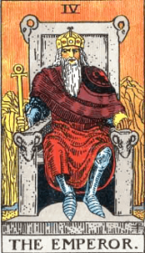 ウェイト版タロットカード皇帝