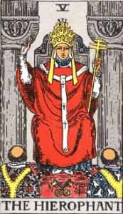 ウェイト版タロットカード法王