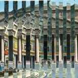 Pantheon, Ansichtskarten auf Papier, 29,5 x 10,5