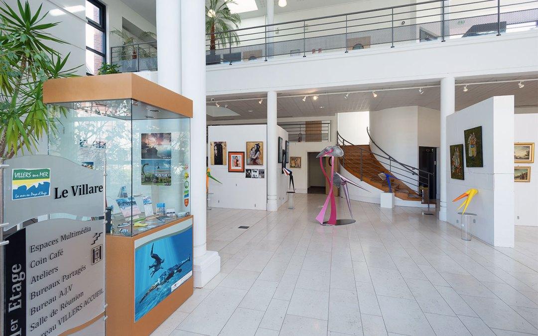 Exposition Villers-sur-Mer, Le Villare, 1-2-3 mai 2020