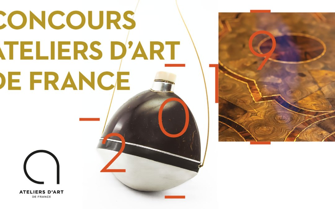 Concours Atelier d'Art de France 2019
