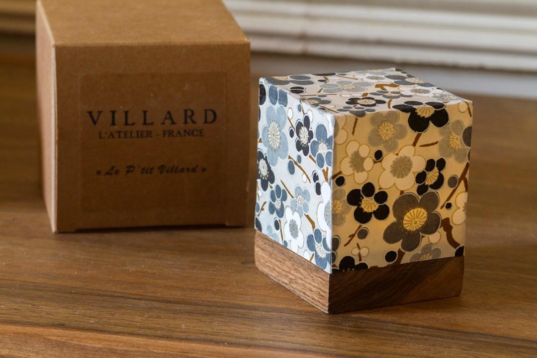 «Le P'tit Villard», photophore par l'Atelier Villard.