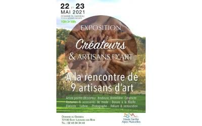 A la rencontre de 9 artisans d'artDomaine du GasseauSaint Léonard des Bois (Sarthe)22 au 23 mai 2021