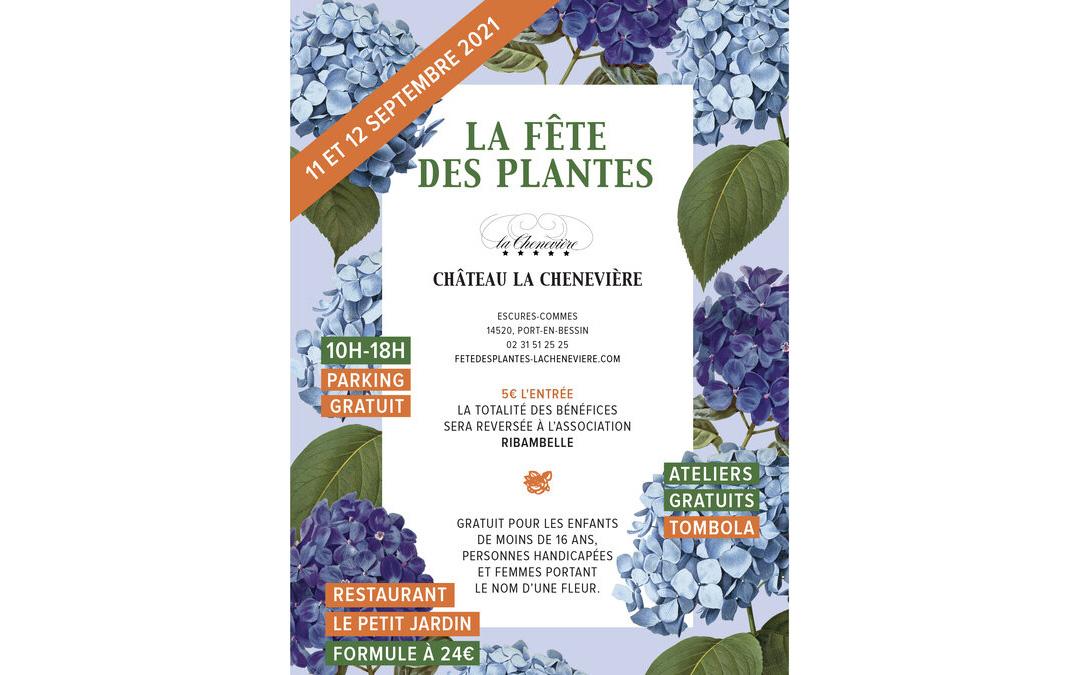 La Fête des Plantes au Château la Chenevière, les 11 et 12 septembre 2021