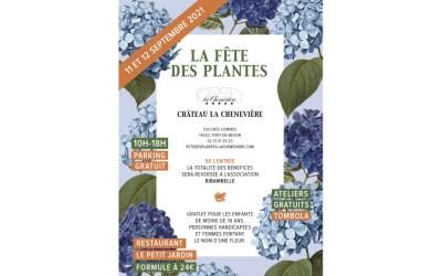 La Fête des PlantesPépinièristes réputés & Artisans uniquesChâteau de la ChenevièrePort-en-Bessin (Calvados)11 et 12 septembre 2021