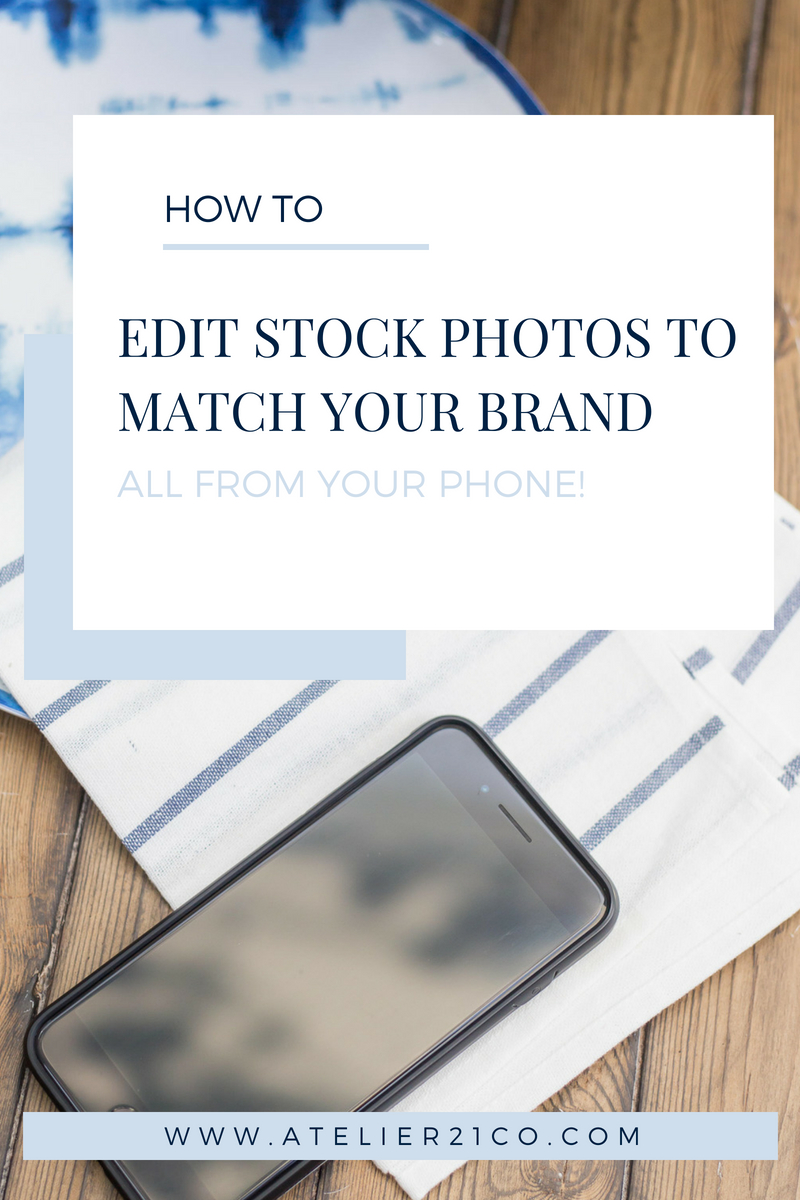 Super easy tricks to edit photos in your phone to get a cohesive Instagram feed