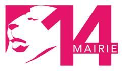 Le logo de la mairie du 14ème