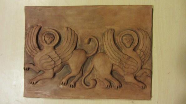 Sfingi alate (angeli annunciatori)