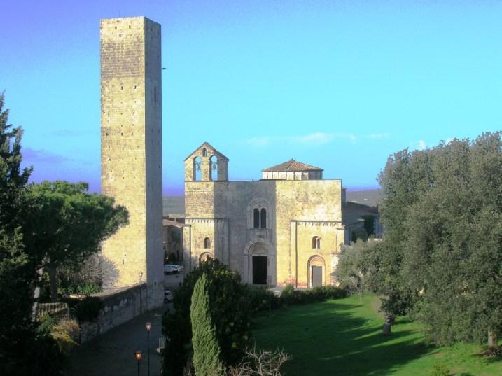 S.Maria in Castello, Tarquinia, VT, Italia