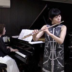 田畑裕美フルートとあべありかピアノ