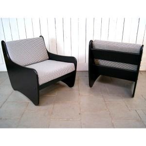 paire-fauteuil-noir-pied-de-poule-5