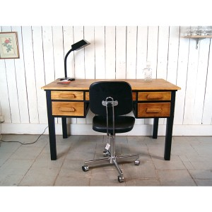 bureau-tiroir-chene-et-noir-3