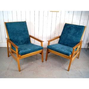 paire-de-fauteuils-scandinave-velour-vert-2