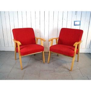 paire-fauteuils-rouge-bois-clair4
