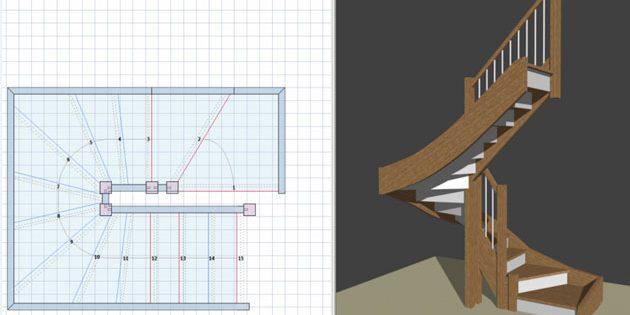 Faire Un Plan D Escalier Avec Stairdesigner