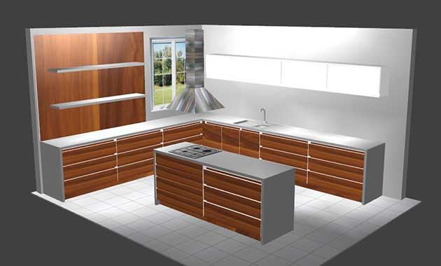 logiciel plan cuisine atelier bois