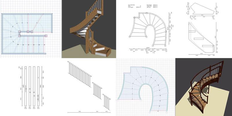 Logiciel Escalier Gratuit 3d Stairfile Atelier Bois