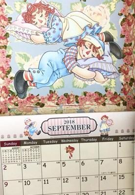 2019年版ラガディカレンダーの注文をお受けします。