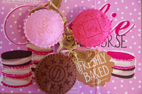 Cookies coin purse(pink) 4