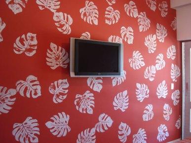 Frade -  quarto vermelho- Arq. Sig Bergamin