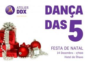 Dança Das 5 - Festa de Natal