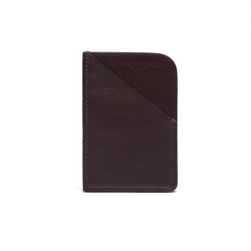 Atelier de Corium - Chocolate Minimalist Cardholder