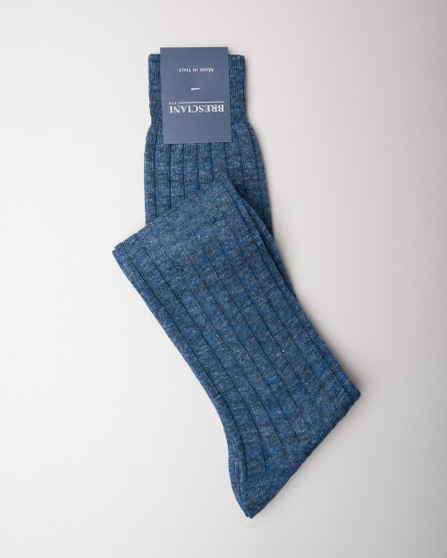 Bresciani Jeans Linen Socks