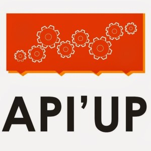 logo API'UP slogan