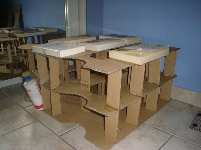meubles en carton l atelier