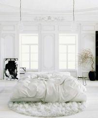 Chambre épurée blanc