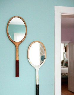 Raquettes miroirs