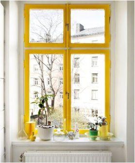 Touche couleur sur fenêtres