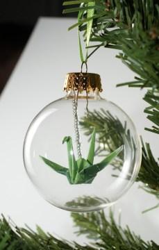 Noël et origamie