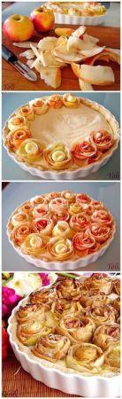 Apple pie roses