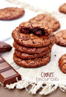 crinckles - petits gateaux moelleux au chocolat