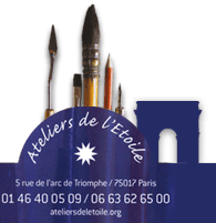 logo - Ateliers de l'Etoile - Paris - Cours de Peinture et Dessins
