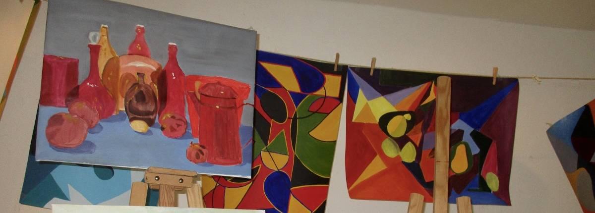 Séchage des peintures