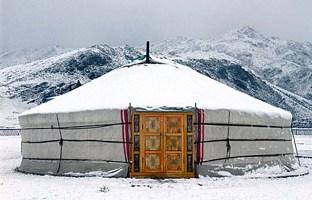 La Yurta, una casa in feltro ecosostenibile