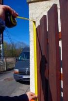Prise de côtes pour une offre personnalisée sur-mesure réalisée dans l'atelier de métallerie