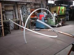 Sculpture en aluminium 4