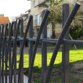 portail-acier-double-barreaudage