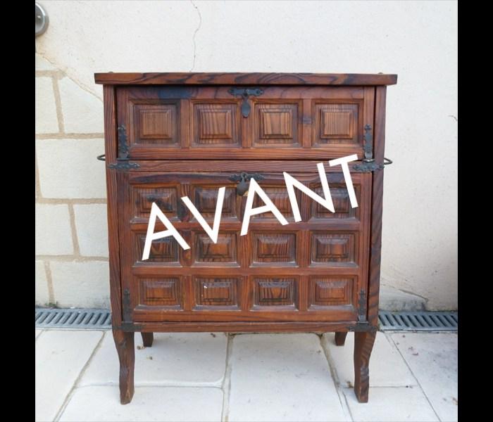 meuble-bar-zen-contemporain-bleu-turquoise-métal-4-AVANT