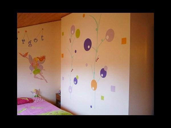 fresque-decoration-handpainting-chambre-enfant-fée-fleurs-couleurs-3