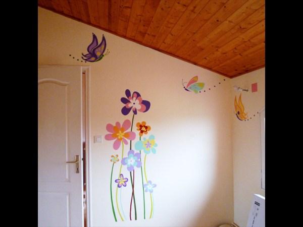 fresque-decoration-handpainting-chambre-enfant-fée-fleurs-couleurs-4
