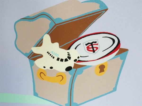 fresque-pirate-caraibes-chambre-enfant-A380-stade-toulousain-rugby-cadeau-4