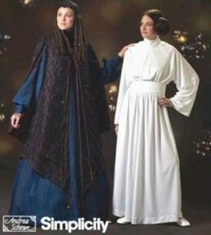 Costume Leïa : FAIT - Padme : à faire